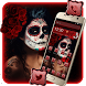 Sugar Skull Girl Mobile Theme by Luxury Mobile Themes