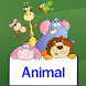 Animal matching games for kids by kids game learn