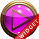Poweramp Widget Pink Gold by Maystarwerk Skins & Widgets Vol.1