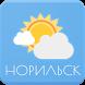 Погода. Норильск by AlVl.Dev