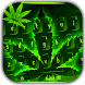 Weed Rasta Neon Smoke Keyboard Theme by Keyboard Theme Creator