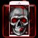 Skull Roar Silver Theme by Launcher Fantasy