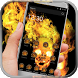 Black fire skull theme by Fantastic theme