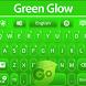 GO Keyboard Green Glow by Keyboard Themes