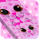 Cute Kitty Keyboard Theme by Mega Lab Studio