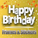 Happy Birthday Frames & Photo Image Stickers by Synergy Apps Studio