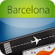 Barcelona Airport-flight track