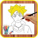 How To Draw Boruto by Learn Draw