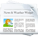 Smart News and Weather Widget by Crescentapp