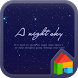 Night Sky Dodol Luncher theme by iConnect