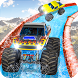 Xtreme Monster Truck Waterslide Race
