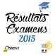 Résultat Examens 2015 by Campus