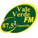 Rádio Vale Verde FM - 87,5 by Taaqui Desenvolvimento
