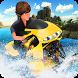 Water Surfer Jetski Motor Bike by 3Dee Space