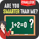 math game: are you smarter than me?