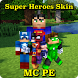 Skins for Minecraft PE Free by Nicheloca