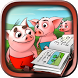 Three little pigs - Tales & interactive book by Isaballos Apps