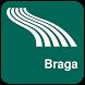 Braga Map offline by iniCall.com
