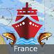 i-Boating:France Marine Charts by Gps Nautical Charts