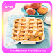 Sweet Summer Peach Desserts by Wayang Apps