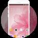 Theme for Huawei Nova Pink Petal Wallpaper by Theme master