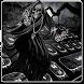 Hell Devil Death Skull Keyboard Theme by Super Cool Keyboard Theme