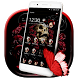 Butterfly Skull Rose Launcher by Cool Wallpaper