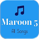 Maroon 5 Complete Collections by Best Song App