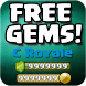 Gems Cheats For Clash Royale by Alamat Fisik