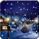 Snow Night City live wallpaper by live wallpaper HongKong