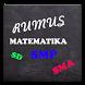 Rumus Matematika SD SMP SMA by Anindya.edu