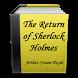 The Return of Sherlock Holmes by PUBLICDOMAIN