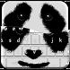 Cute Panda Keyboard Theme by Mega Lab Studio