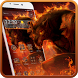 Werewolf Hell fire Fierce Beast Cool Flame Theme