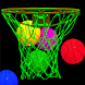 Basketball Dream Hoops by Scott Waring