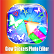 Glow Sticker Photo Editor Sticker Collection by Crystal Apps Inc