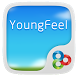 Young Feel GO Launcher Theme by Freedom Design