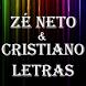 Zé Neto e Cristiano Top Letras by Rainbow Letras