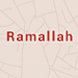 Ramallah City Guide by trApp