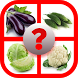 Vegetable Puzzle for Toddlers by b2h App Tech