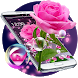 Pink Rose Love Theme for Valentine by Fashion Themes Studio