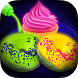 Glow In The Dark Foods! Neon Cupcakes & Glonuts by shafay Labs