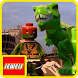 Jewels Of LEGO Ninja Turtle and Dinos