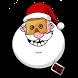 Santa On A Roll
