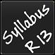 Anna University Syllabus R13 by Satheesh Kumar CyB