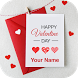 Valentine Greeting Card by Appnosys