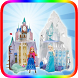 Frozen ice castle by WORK UP