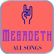 Megadeth Complete Collections by Best Song App