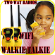 Two way radios Wifi Walkie Talkie by HIGH TECH™