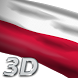 Poland Flag Live Wallpaper 3D by Mummy Apps